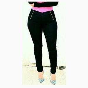CLEARANCE! M.Michel Black Skinny Jeans